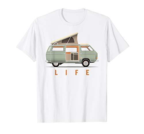 Van Life T Shirt for Nomads