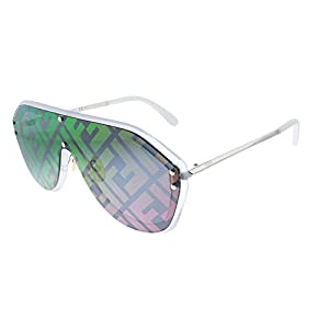 Fendi FENDI FABULOUS FF M0039/G/S CRYSTAL/GREY MULTICOLOR 99/1/145 unisex Sunglasses