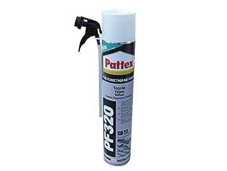 PATTEX ESPUMA PU PF 320 TEJAS MANUAL 750 ML: Amazon.es: Bricolaje y herramientas