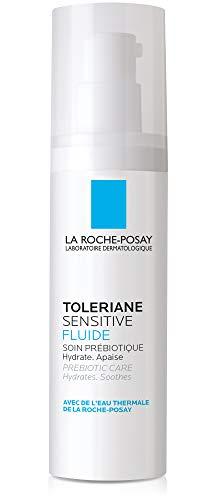 - La Roche-Posay Toleriane Sensitive Fluide Protective Moisturizer, Oil-Free, 1.35 Fl Oz