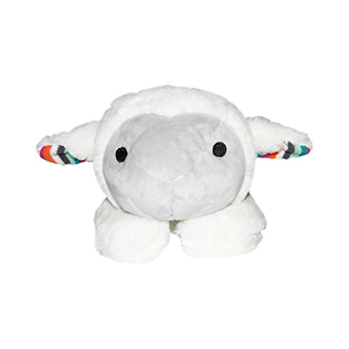 Amazon.com : Zazu Kids Soft Heartbeat Toy Voice & Touch Activated Sound Machine Sleep Soother (LIZ the Lamb), Lamb - White : Baby