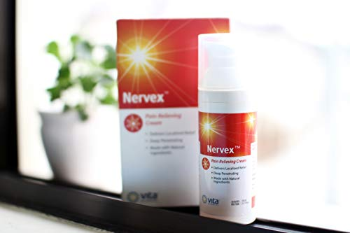 Vita Sciences NERVEX Neuropathy Pain Relief with Arnica, B1, B5, B6,  Capsaicin, MSM  Soothe & Regenerate  Reduce Burning, Tingling, Numbnes   Soothing