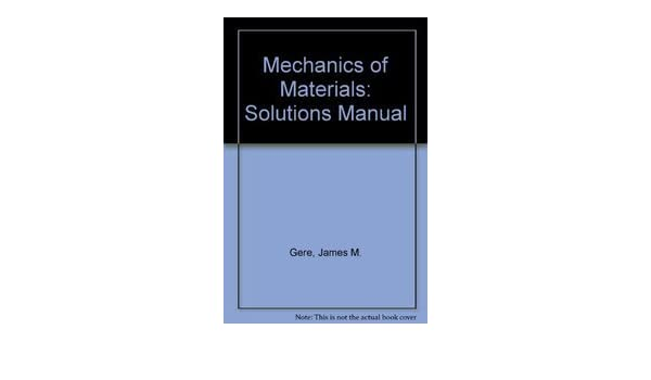 Amazon mechanics of materials 4th ed solutions manual amazon mechanics of materials 4th ed solutions manual 9780748740093 drs timoshenko books fandeluxe Choice Image