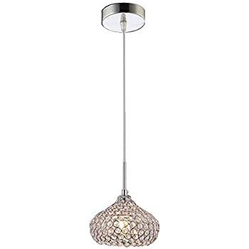 "Possini Euro Design Pantheon 4"" Wide Crystal Mini Pendant"
