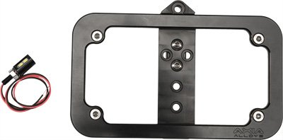 AXIA Lighted License Plate Frame Bolt On (Lighted Billet License Plate Frame)