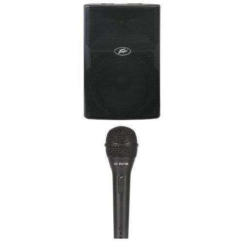 Peavey Pvi 2 Dynamic Microphone (Peavey PVX 15p Speaker Enclosure with Peavey Pvi 2 Microphone)