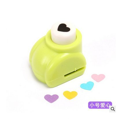 Romote Cute Embossing Device Card Making Scrapbooking Craft Punch Paper Shaper Hole Punch (Heart) (Craft Paper Punch Shaper)