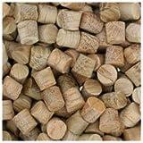 WIDGETCO 1/4'' Oak Wood Plugs, Face Grain