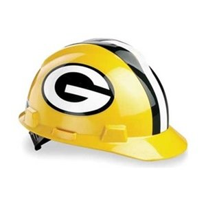 Image Unavailable. Image not available for. Color  MSA 454-818395 Standard  V-Gard Hard Capw-Green Bay Packers Logo 2cb256115