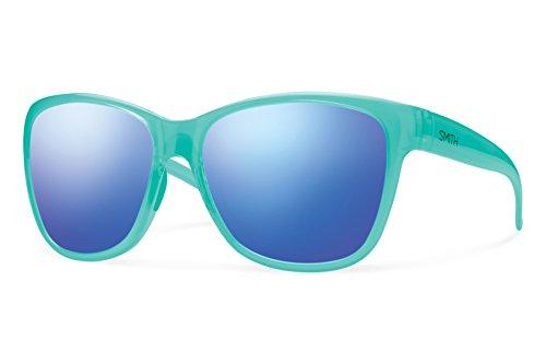 Smith Optics Ramona Sunglasses, Opal, Blue Flash - Sunglasses Ramona Smith