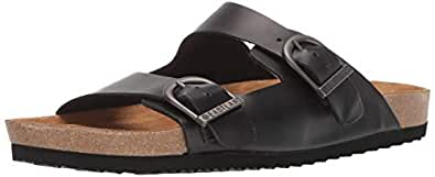 Eastland Men's Cambridge Sandal, Black, 8 M US