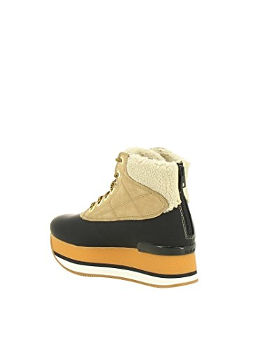 Leather HXW3280J320HTD0XFK Black Boots Beige Hogan Women's Ankle InwTqx0U8R