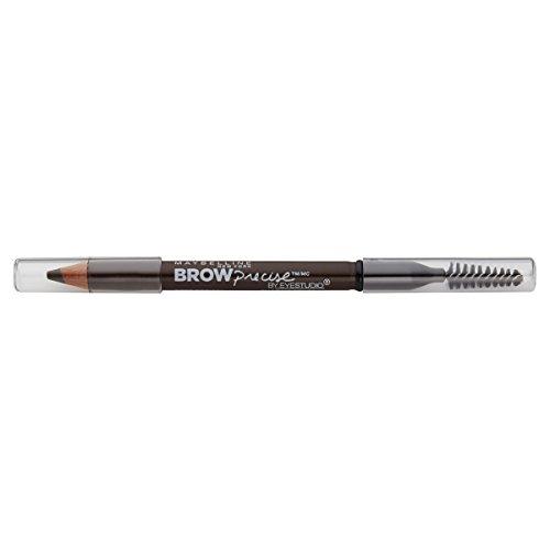 Maybelline New York Brow Precise Shaping Eyebrow Pencil, Deep Brown, 0.02 -
