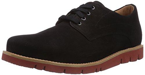 Ganter GREGOR, Weite G - Zapatos de cordones para hombre Mehrfarbig (schwarz 0100)