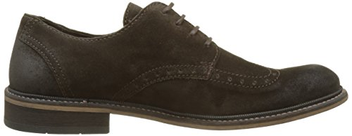 Stringate Basse Uomo Fly Brogue Scarpe London Mocca Marrone Hugh933fly qwxtPZ