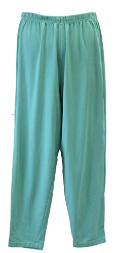 Liz and Jane Women's Cotton Leggings Plus Size (2X, Kryptonite)