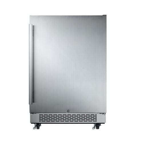 "Price comparison product image Avallon AFR241SSODRH 5.5 Cu Ft 24"" Outdoor Built-In Refrigerator - Right Hinge"