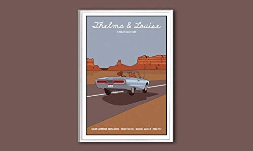 North Shine Thelma & Louise Movie Poster Gifts for Lovers Poster [No Framed] Poster Home Art Wall Posters]()