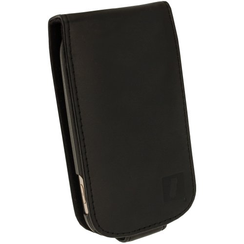 iGadgitz-Leather-Case-Cover-Holder-for-Samsung-Galaxy-Fame-S6810-Android-Smartphone-Mobile-Phone-Screen-Protector