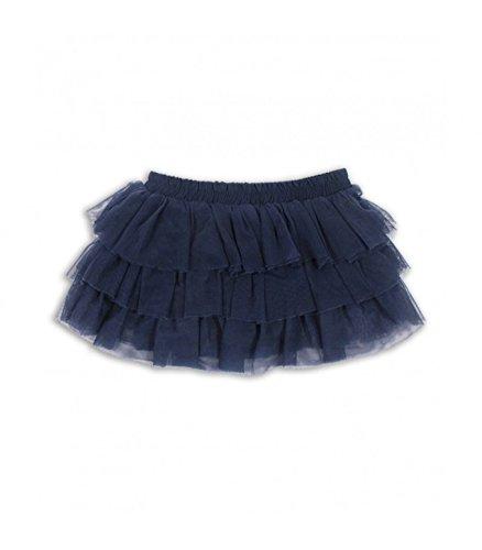 Falda tul niña UBS2 de volantes negra - 12 m 74 cm: Amazon.es: Bebé