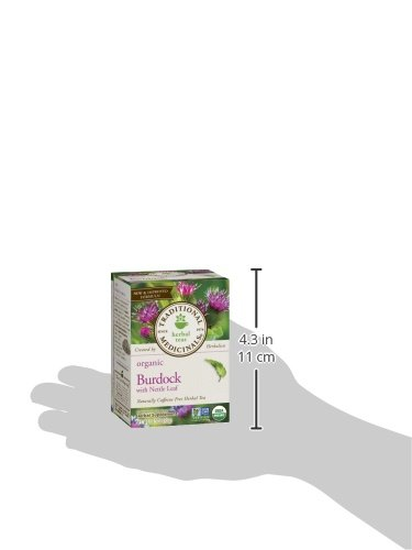 Traditional Medicinals Organic Burdock with Nettle Herbal Leaf Tea, 16 Tea Bags by Traditional Medicinals (Image #7)