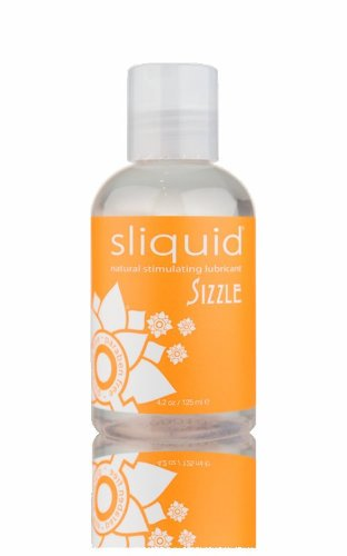 Siam Circus Sliquid Naturals Sizzle Personal Warming Cooling Lubricant Lube 4.2 Oz Bottle by Siam Circus Adults