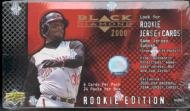 2000 Upper Deck Black Diamond Rookie Edition Baseball Cards Unopened Hobby - 2000 Deck Rookie Upper Card