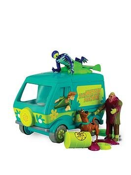 Scooby Doo Goobuster Mystery Machine Playset With 4 Action Figures