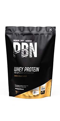 PBN Whey Protein Powder 1kg Cookies & Cream