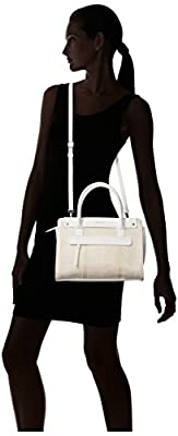 Kenneth Cole Reaction Tab Over Straw Satchel