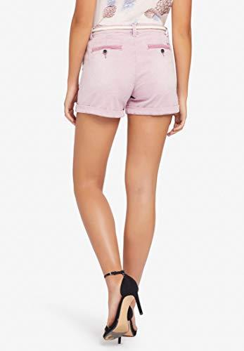 Pantalón Mujer Khujo Flieder Corto Para Relaxed wHqq68R