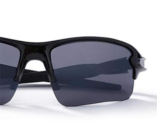 soleil Cool Huyizhi cyclisme soleil Femmes voyager de Lunettes le de Black Lunettes UV400 Sport Hommes Protection YTdwTq