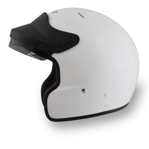 Zamp JA-2 Auto Snell SA2010 PreDrill Helmet White X-Small