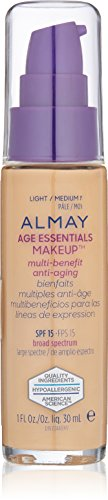 Almay Age Essentials Makeup, Light/Medium Neutral