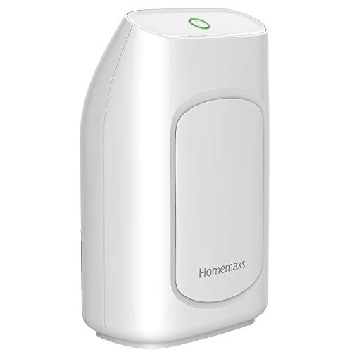 Homemaxs Dehumidifier, 700ml Portable Dehumidifier, Super Quiet Air...