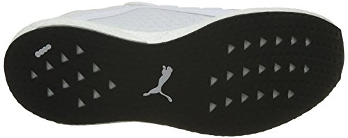 Puma Mens Mega Nrgy Runners Shoes Lace Up Breathable Mesh Upper Pull Toggle White cheap sale with mastercard 1gNvU