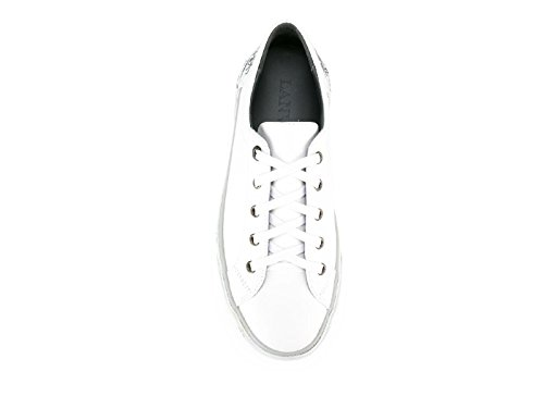 Women's FMSKKBD3VENOP17 Lanvin Sneakers White Leather SapxpU