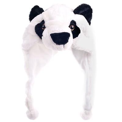 Critter Cap Plush Panda Hat: Toys & Games