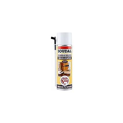AEROSOL espuma de poliuretano 500 ml Soudal 109628