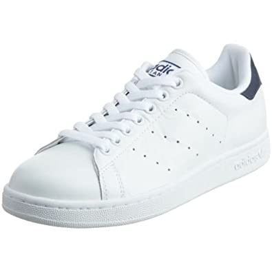 Adidas Originals Stan Smith White & Navy Trainers