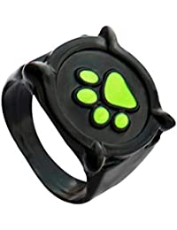 Cat Noir Ring for Kids Size 5-7 Cat Noir Ring Anime Jewelry Black Ring Cat Noir Costume for Kids Ladybug Costume Rings for Women Men Adults Cosplay Accessories