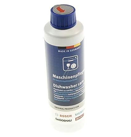 Bosch 00311994 - Cuidado lavavajillas 250 ml - Elimina grasa y cal ...