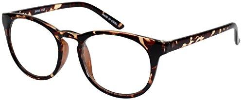 Edge I-Wear Round Frame Fashion Readers with Keyhole Bridge - Frames Indie Glasses