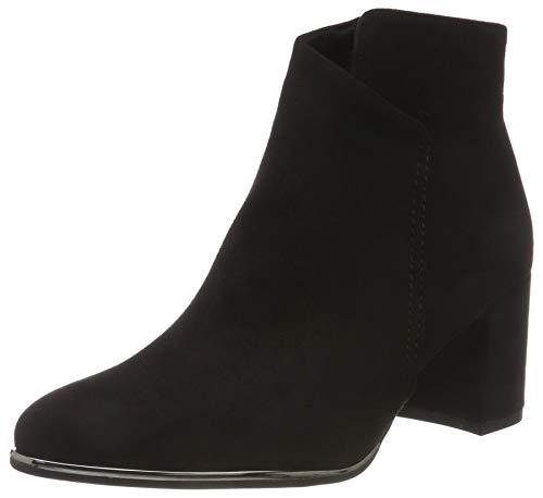 Marco 001 Tozzi Noir Botines black 31 25015 Femme qw8U6q7Sx