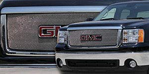 03 sierra chrome mesh grill - 1