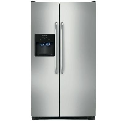 Frigidaire 23 Cu Ft Standard Depth Side By Side Stainless...