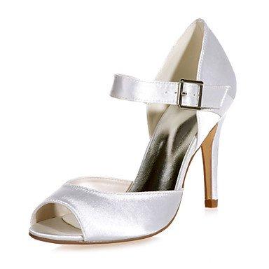 Talón amp;Amp; 5 Boda 5 US5 Toe Zapatos Boda Parte Peep UK3 De De Disponibles EU36 CN35 Noche Mujer Colores Zapatos Satin Más Sandalias Stiletto 6IBvIq