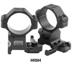 A.R.M.S. #22 Throw Lever 30mm Scope Rings - High height