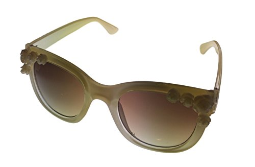 Esprit Womens Beige Fashion Flower Square Plastic Sunglass ET19465 565 (Esprit Flowers)