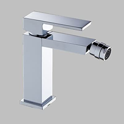 LightInTheBox Chrome Finish Solid Brass Ceramic Valve Bidet Faucet